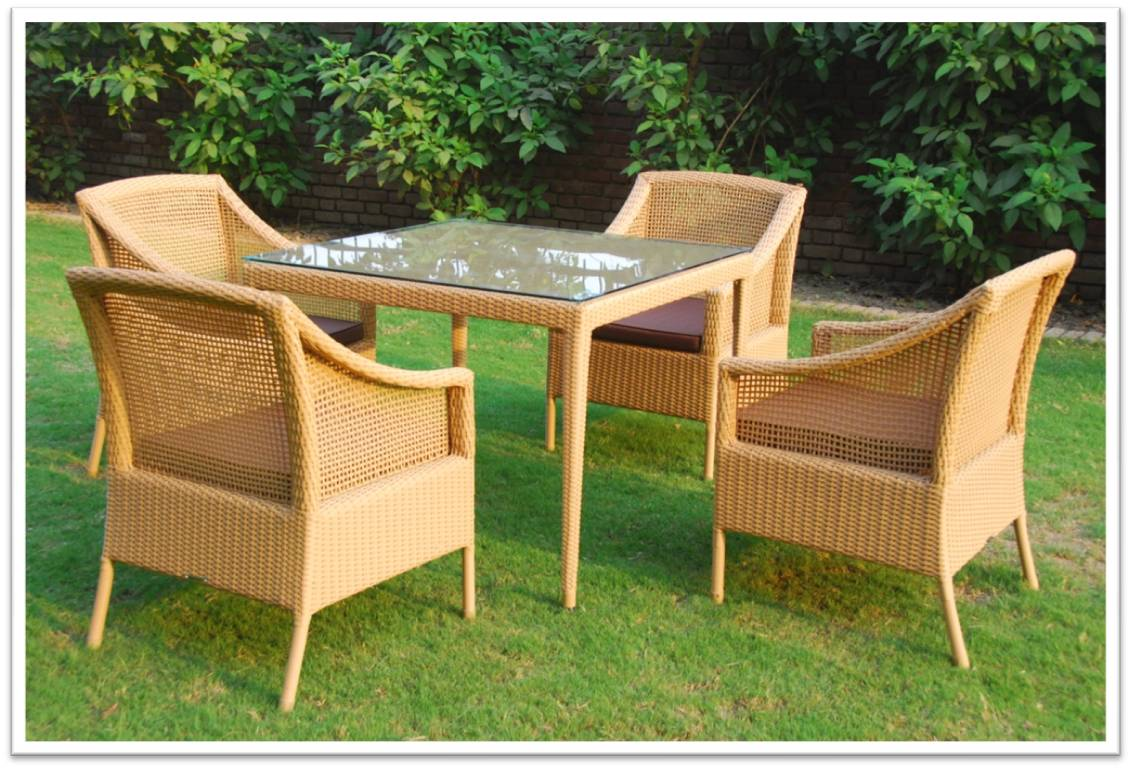 outdoor furniture cane outdoor goods